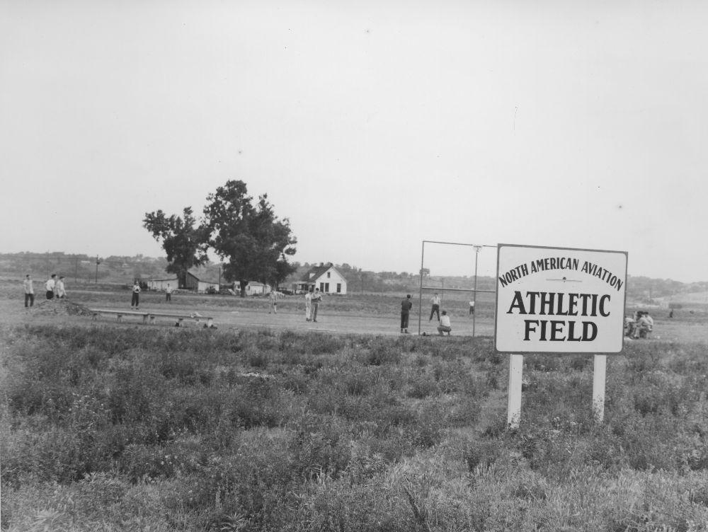 Baseball game, Kansas City, Kansas