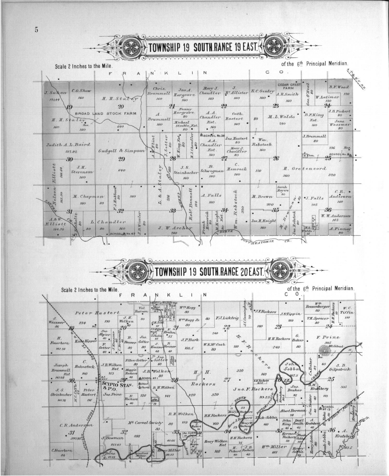 Plat book, Anderson County, Kansas - 3