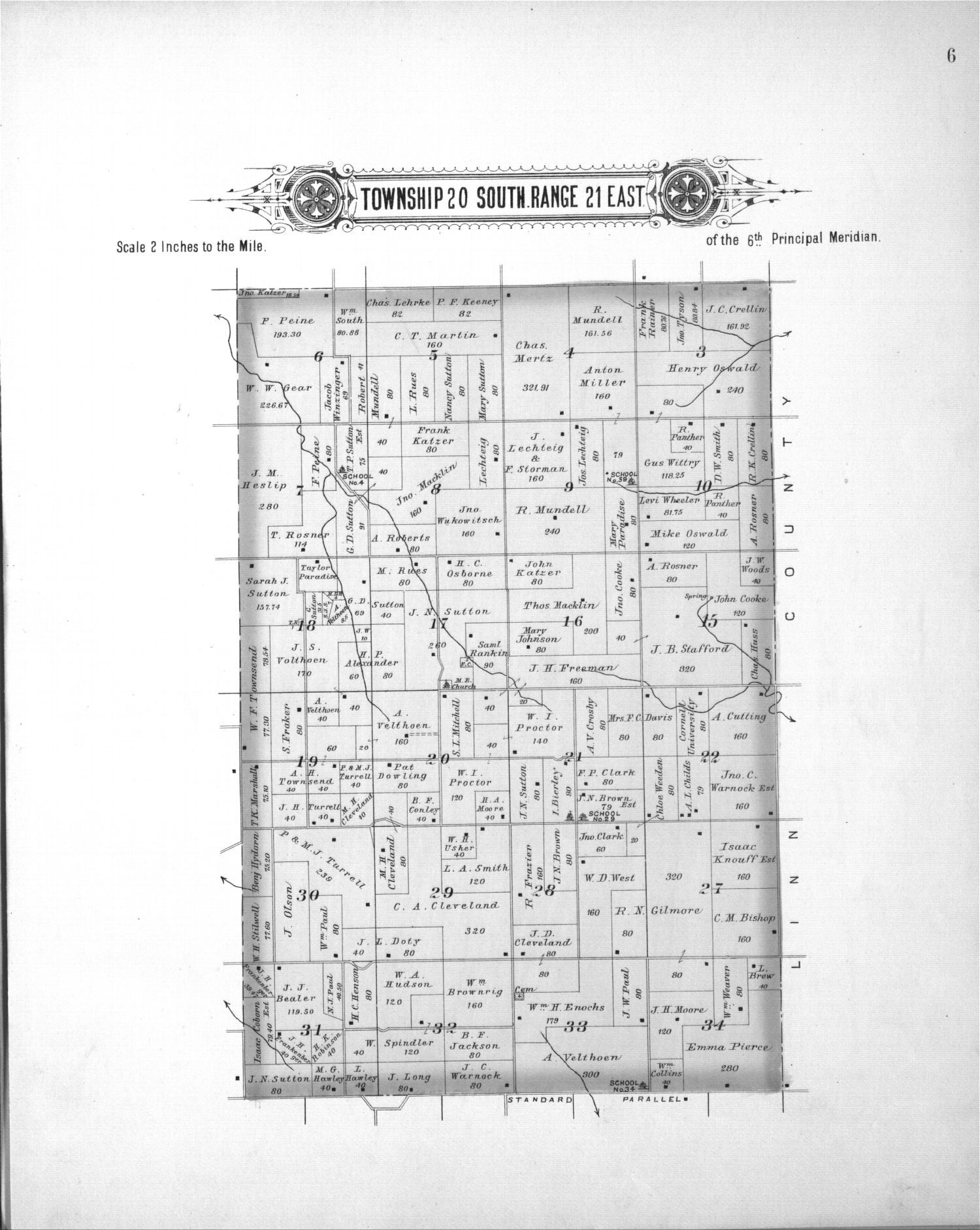 Plat book, Anderson County, Kansas - 4