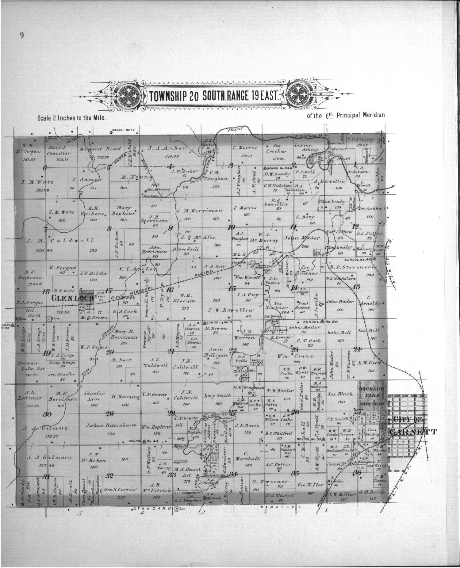 Plat book, Anderson County, Kansas - 6