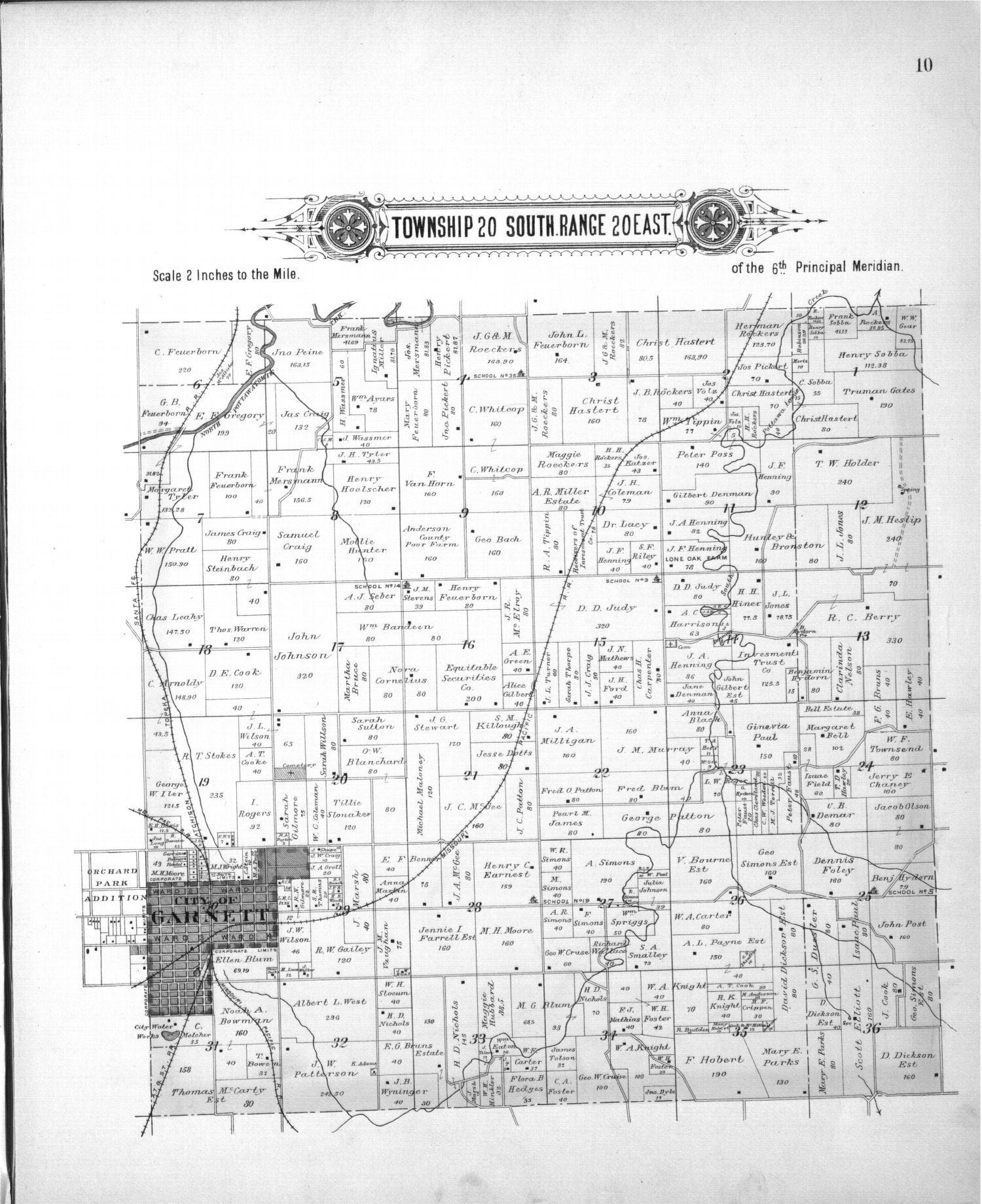 Plat book, Anderson County, Kansas - 7