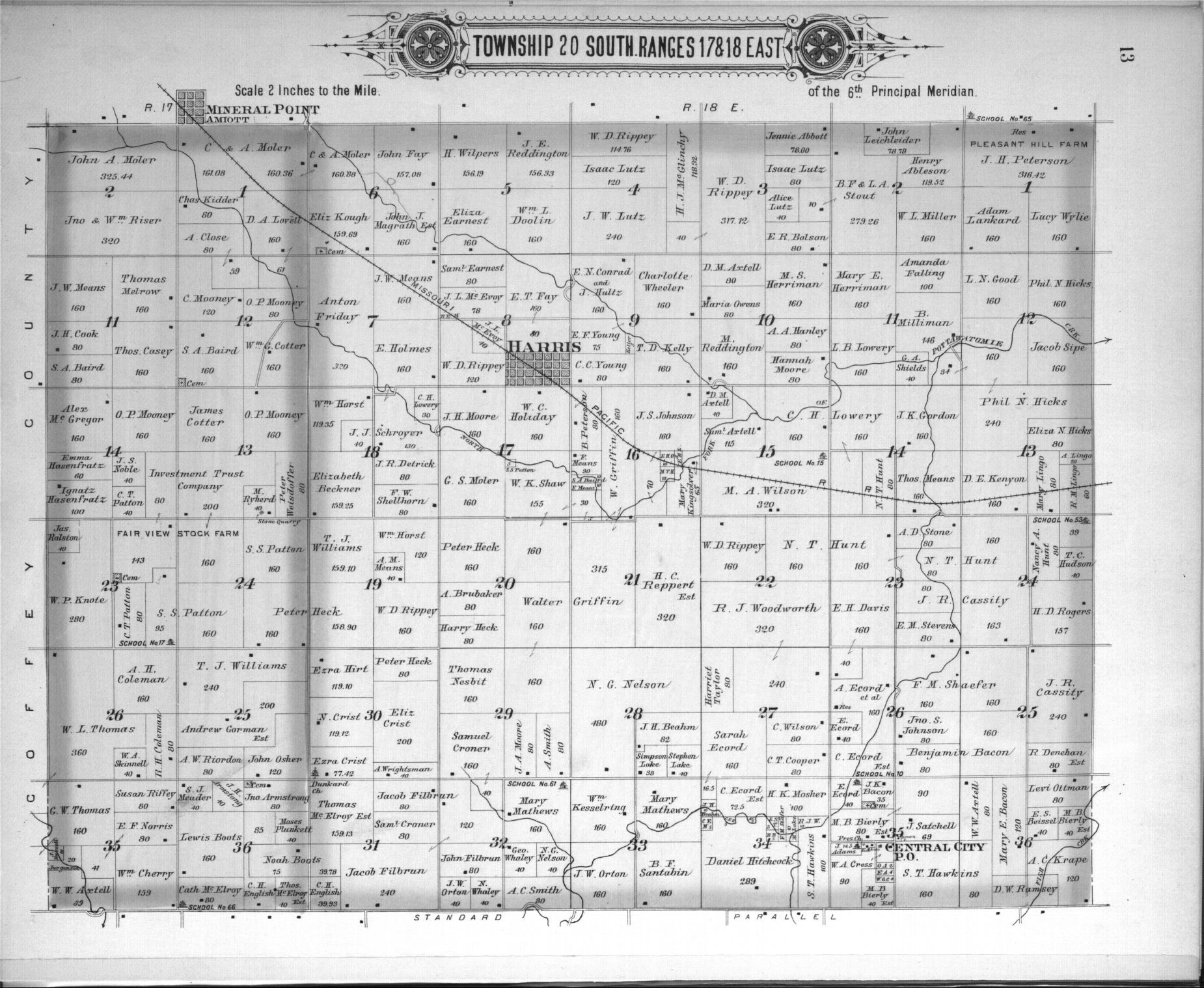 Plat book, Anderson County, Kansas - 9
