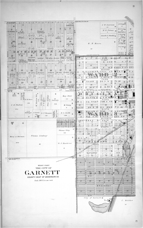 Plat book, Anderson County, Kansas - 8