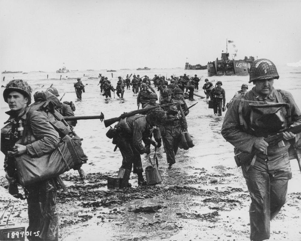 American troops in WW II