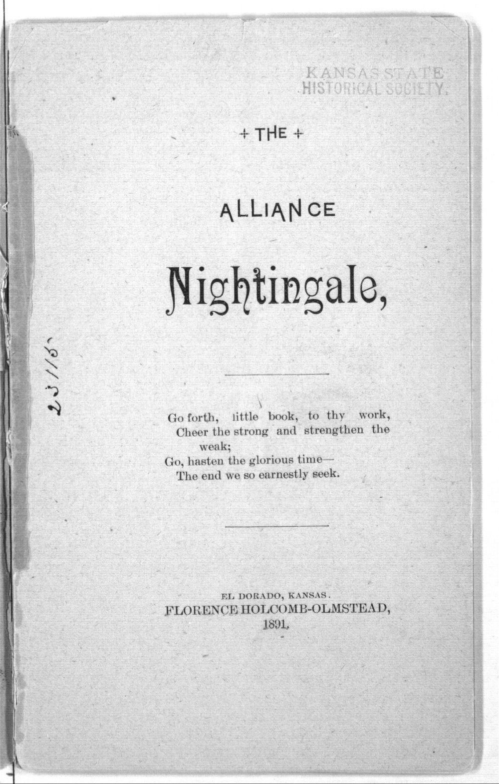 The alliance nightingale - 3