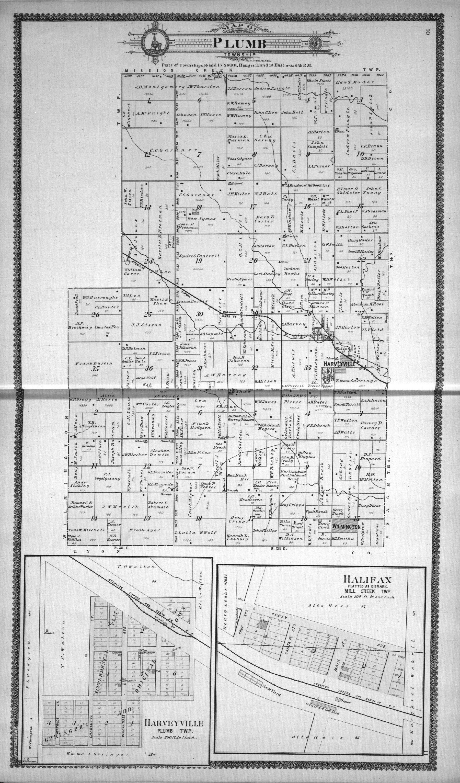 Standard atlas of Wabaunsee County, Kansas - 10 & 11