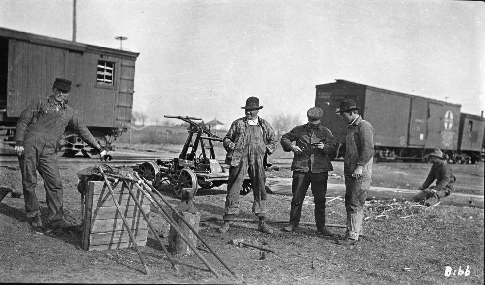 Atchison, Topeka & Santa Fe Railway Company section crew