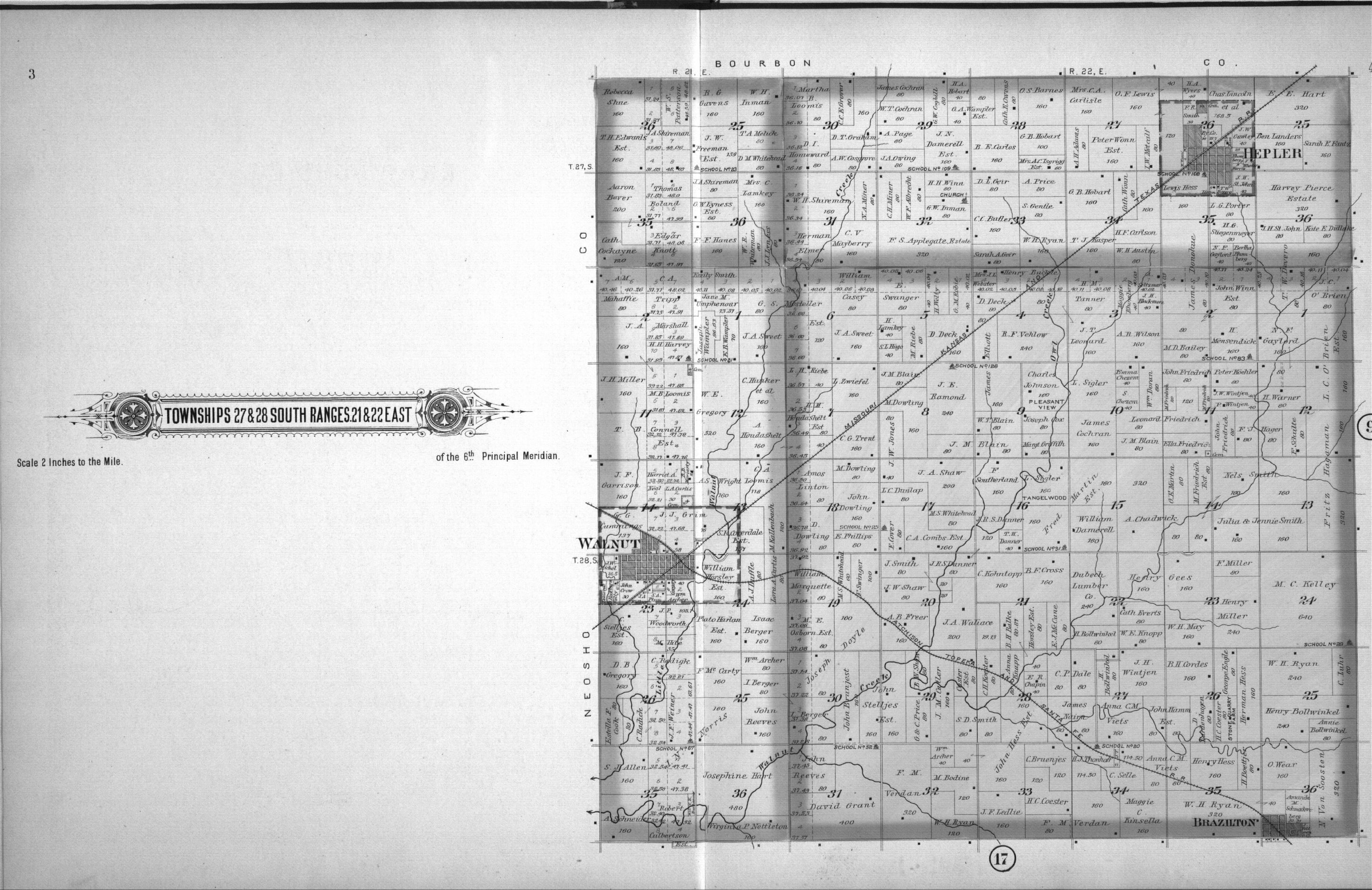 Plat book, Crawford County, Kansas - 4