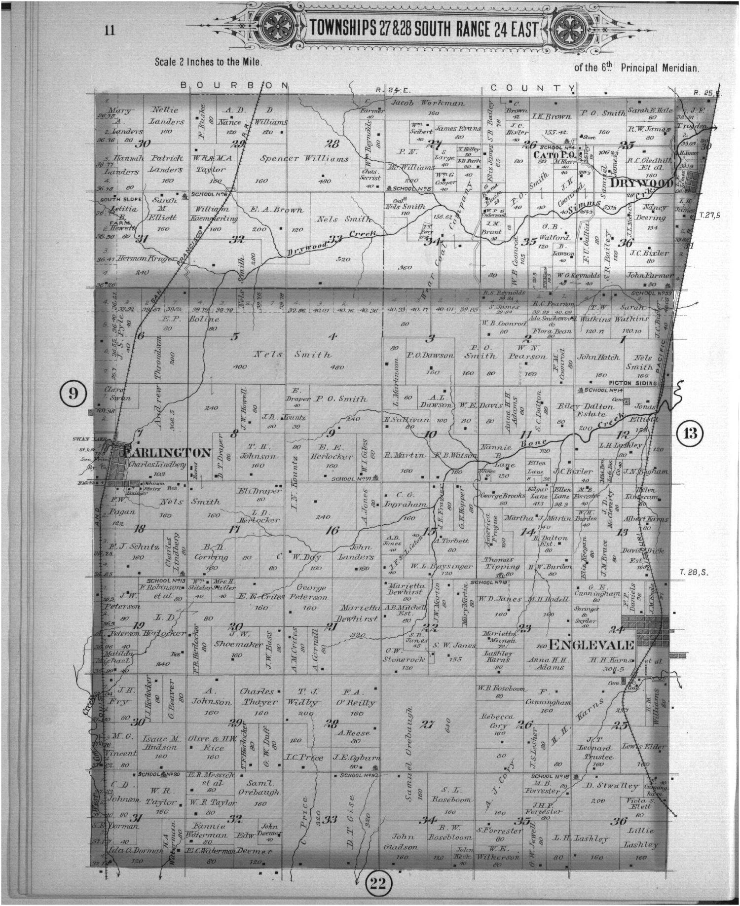Plat book, Crawford County, Kansas - 8