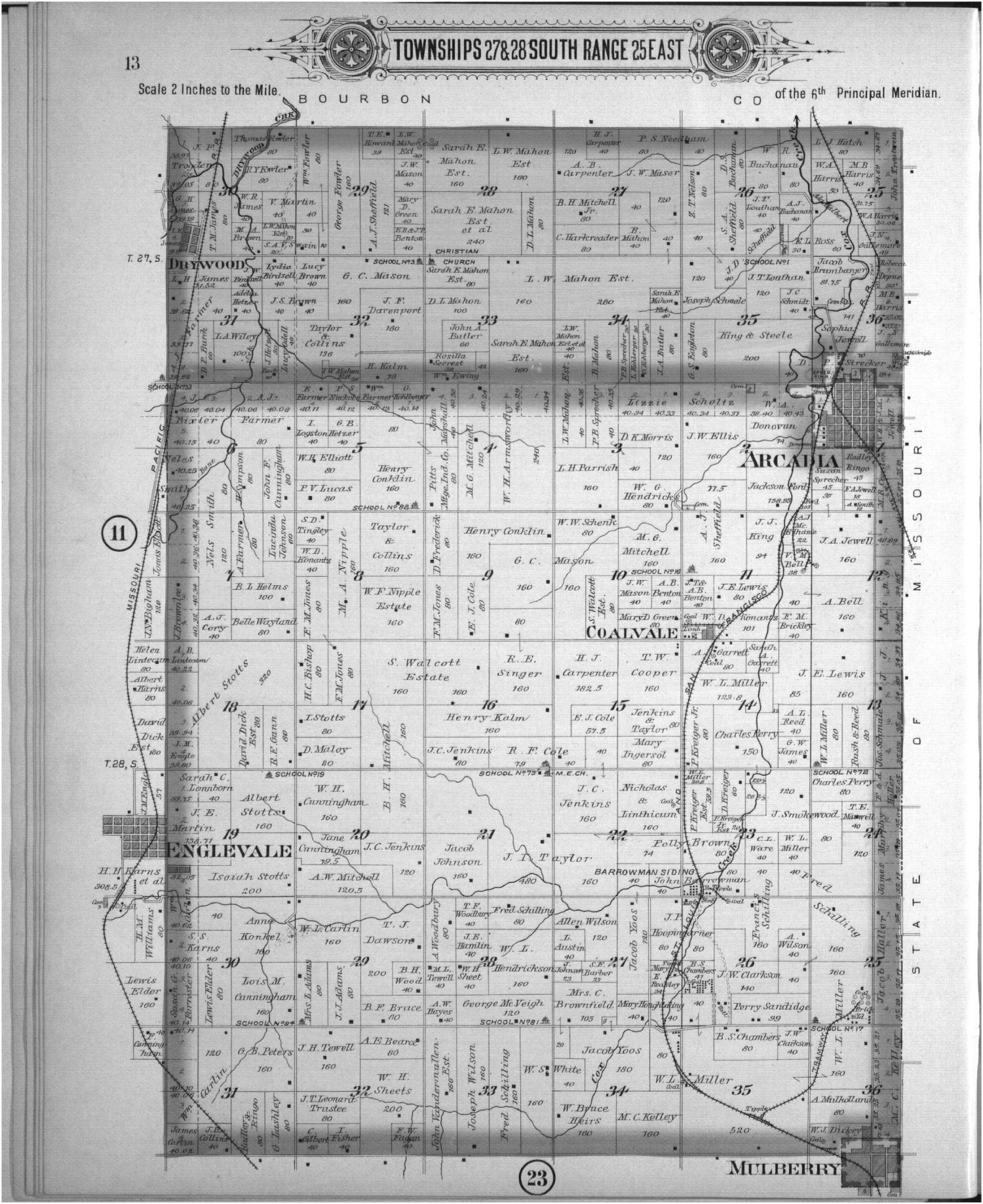Plat book, Crawford County, Kansas - 10