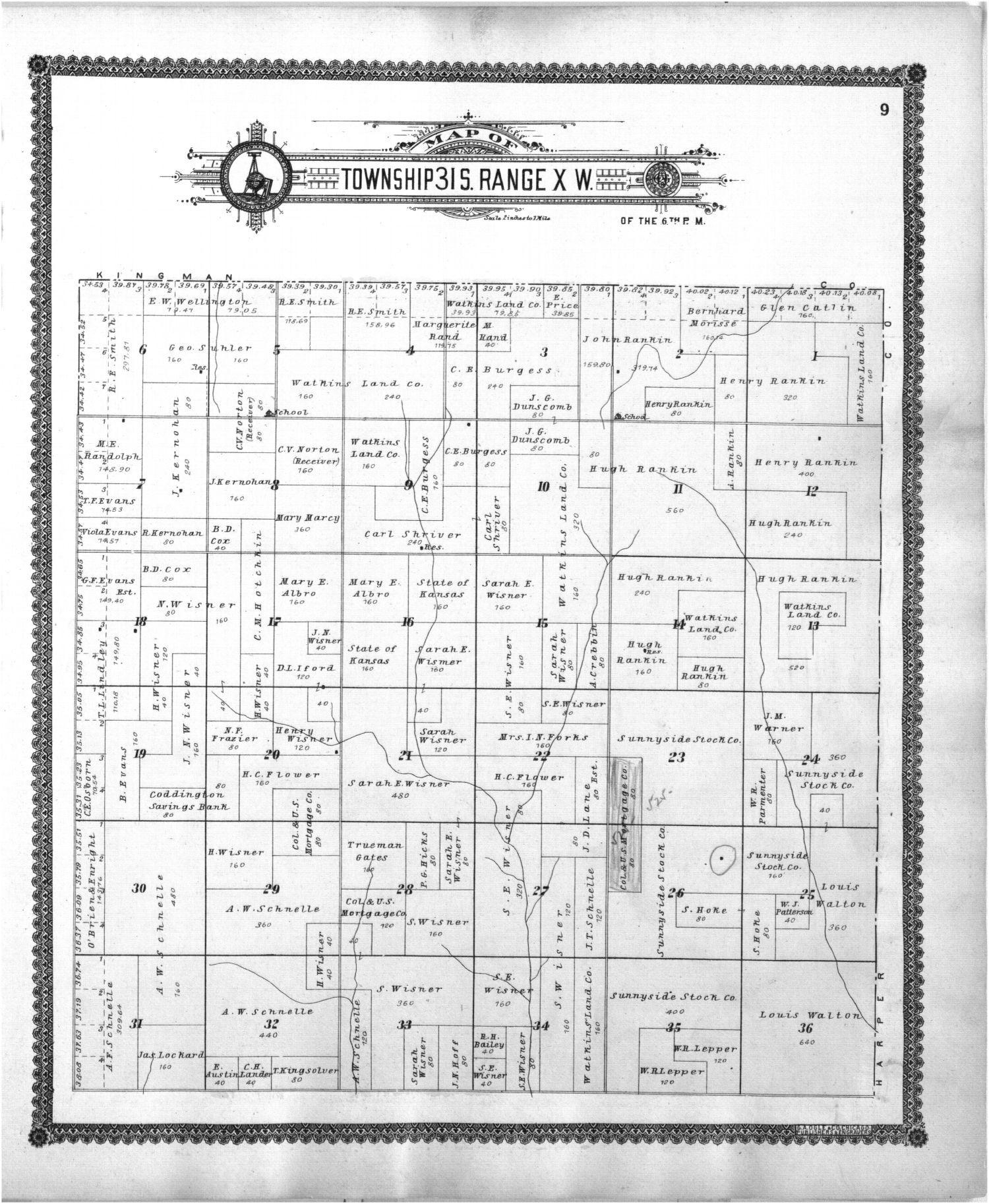 Standard atlas of Barber County, Kansas - 9