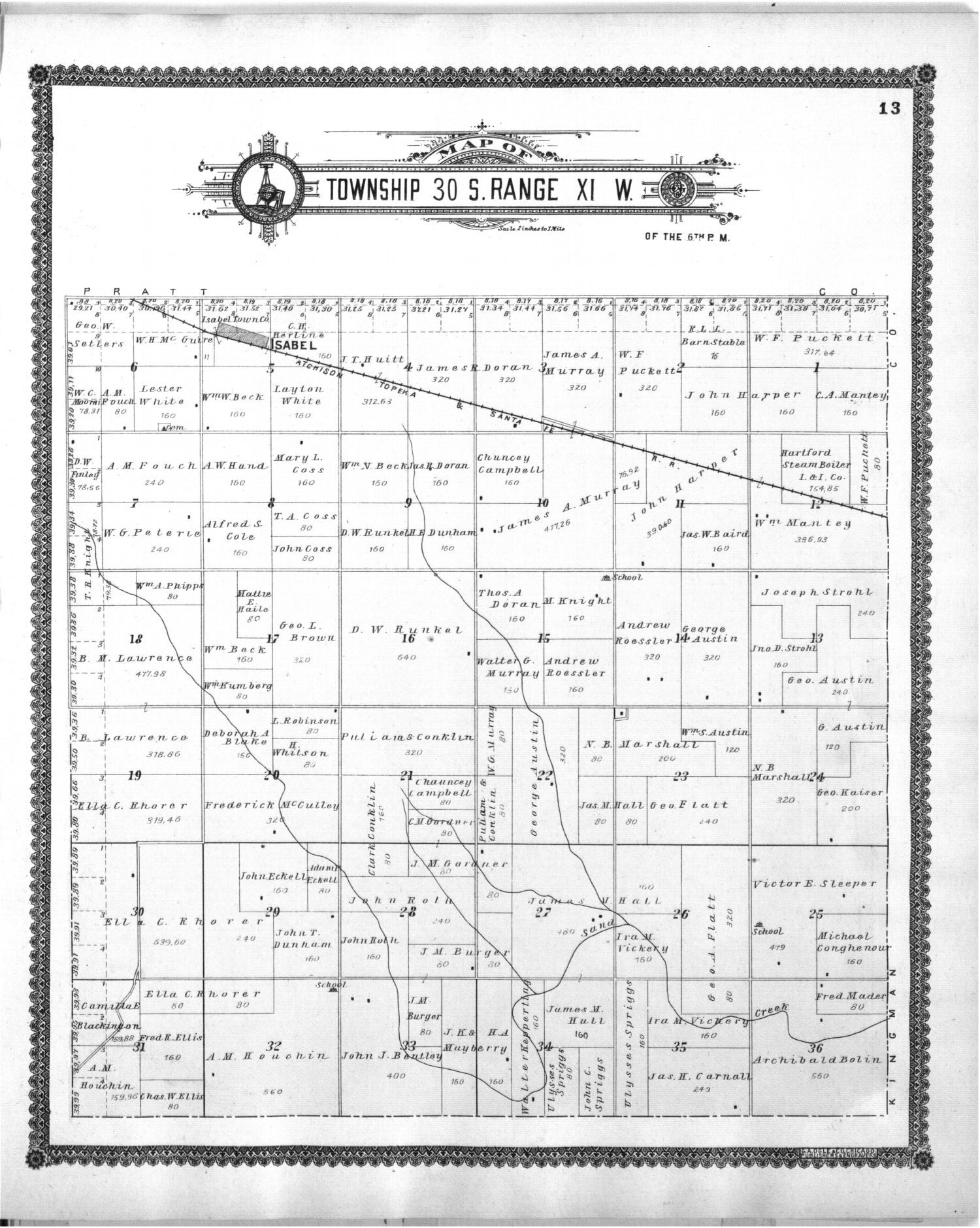 Standard atlas of Barber County, Kansas - 13