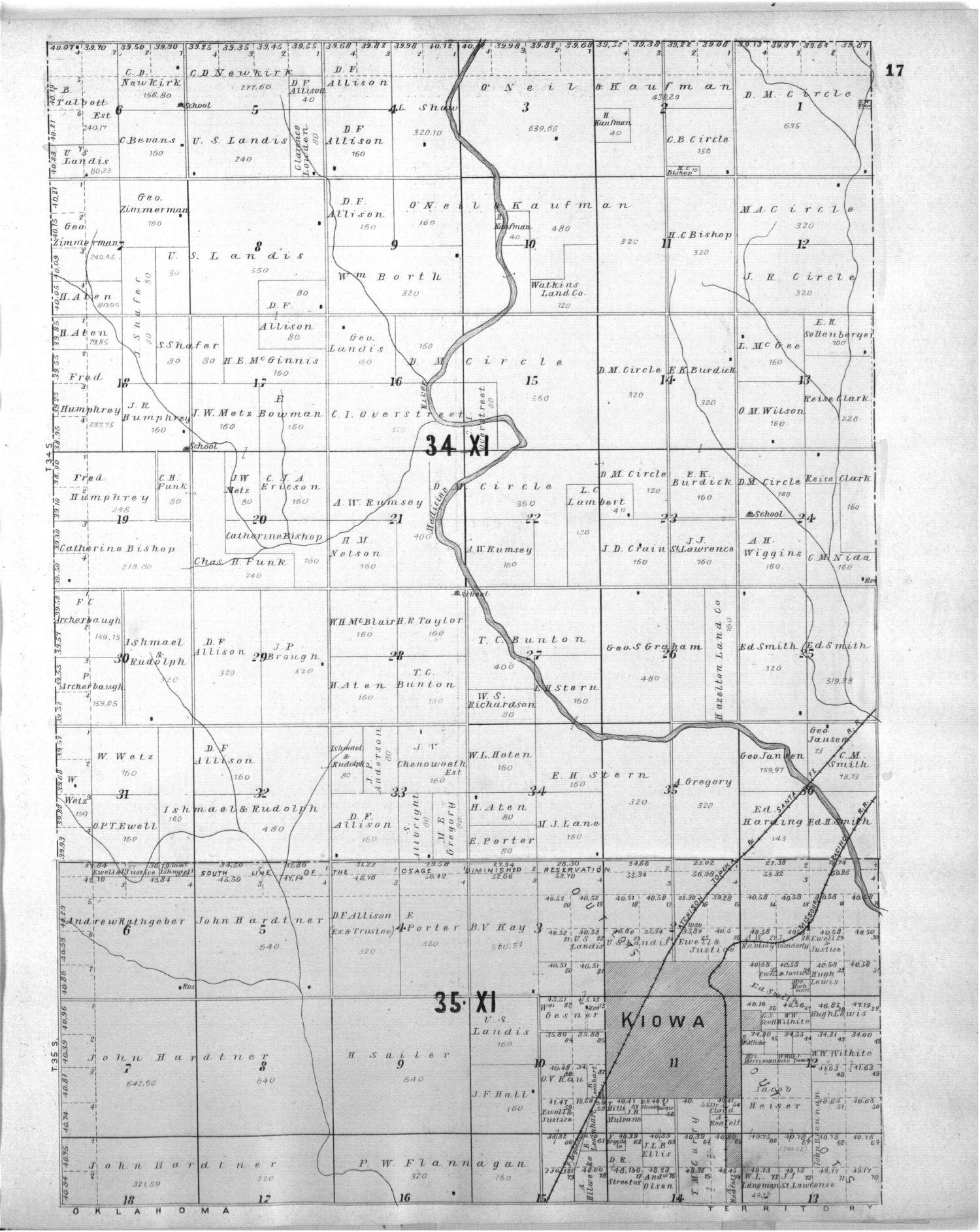 Standard atlas of Barber County, Kansas - 17