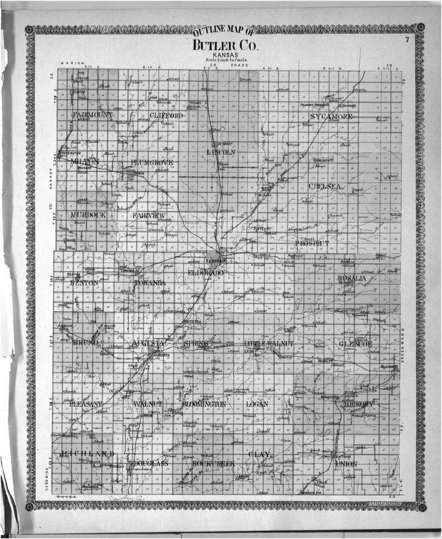 Standard atlas of Butler County, Kansas - 27