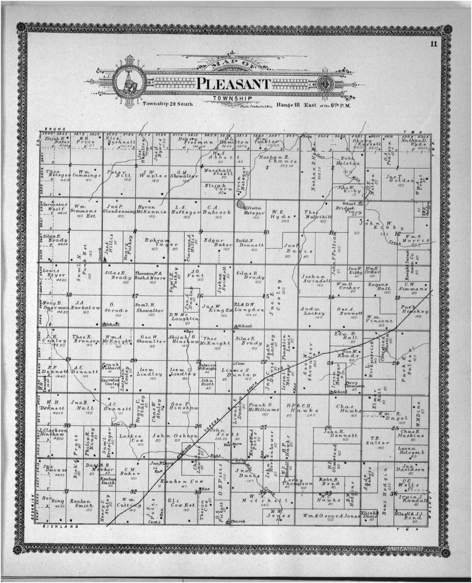 Standard atlas of Butler County, Kansas - 29