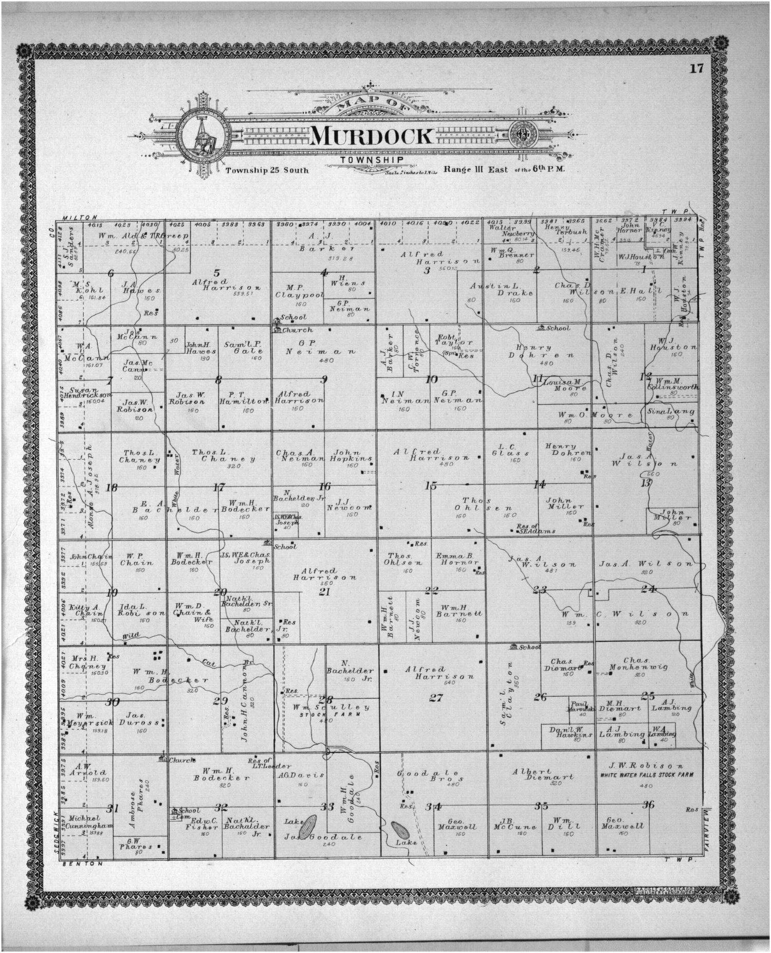 Standard atlas of Butler County, Kansas - 32