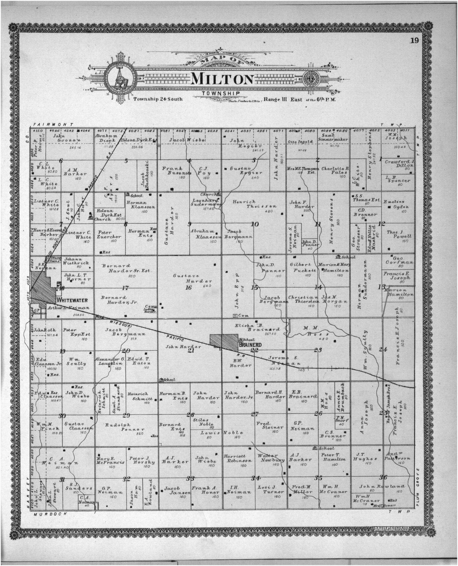 Standard atlas of Butler County, Kansas - 33