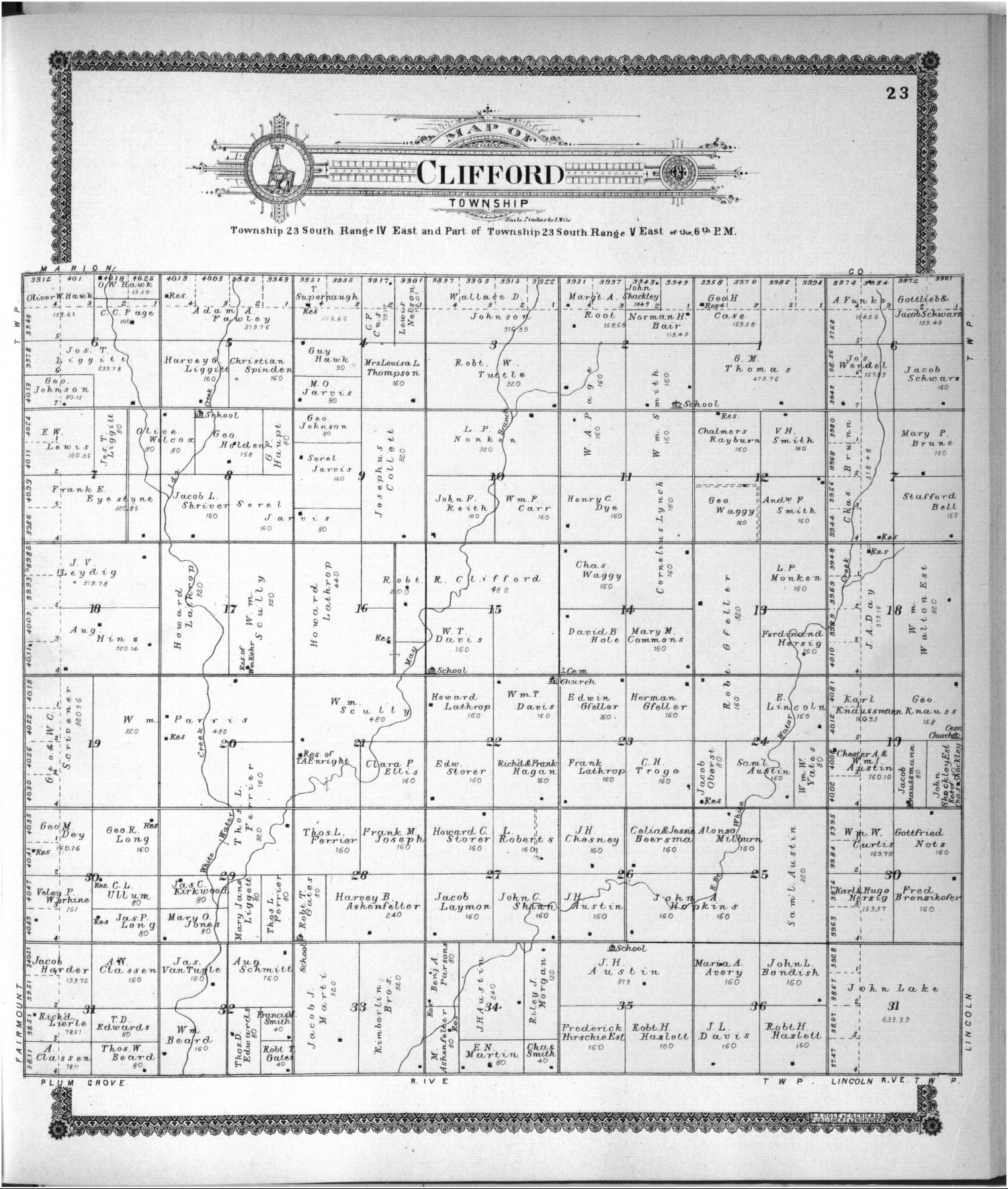 Standard atlas of Butler County, Kansas - 35