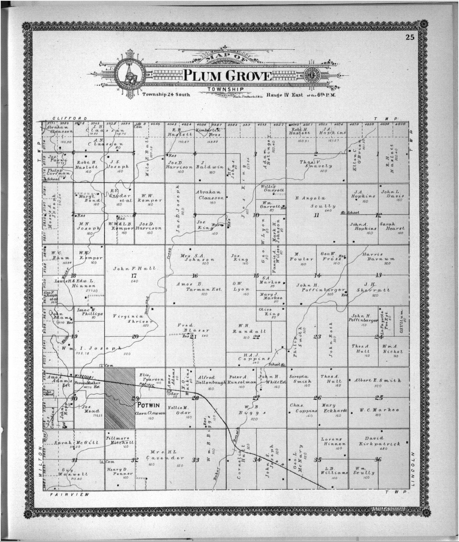 Standard atlas of Butler County, Kansas - 36