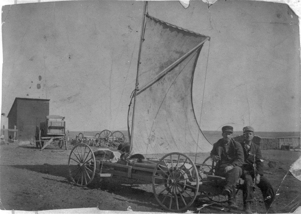 Wind wagon, Logan County, Kansas