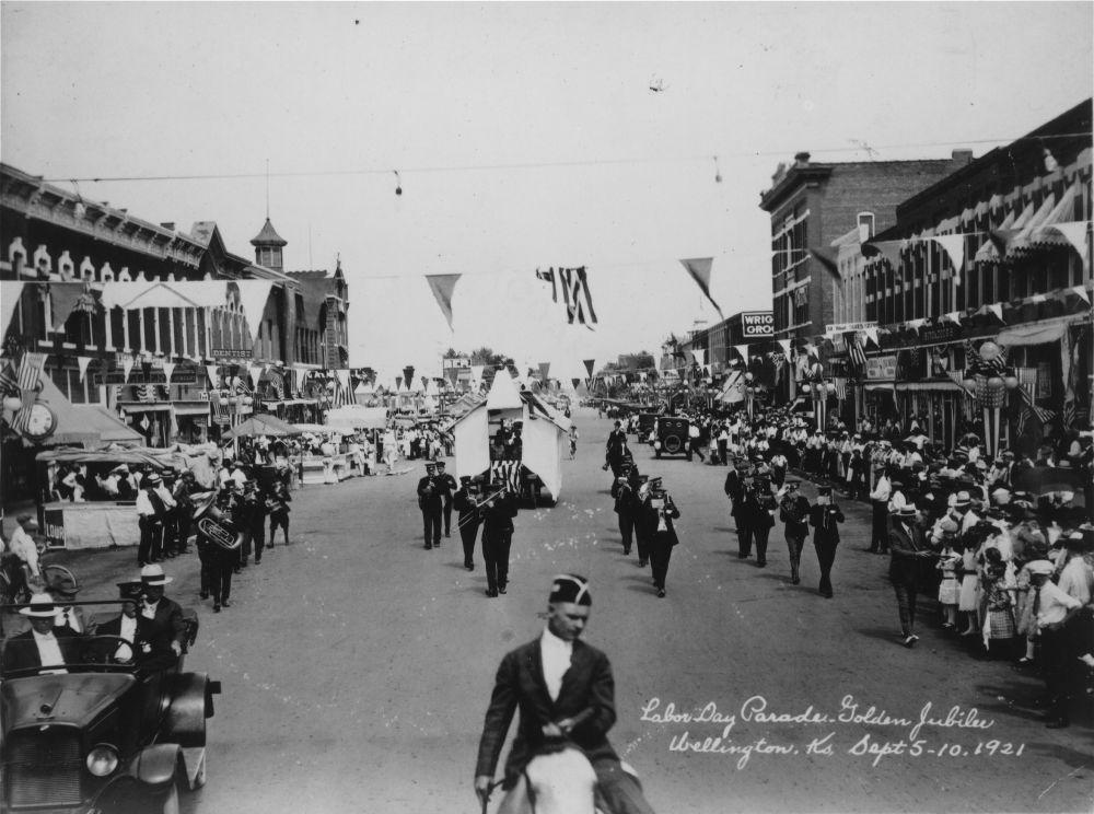 Labor Day Parade, Wellington, Kansas