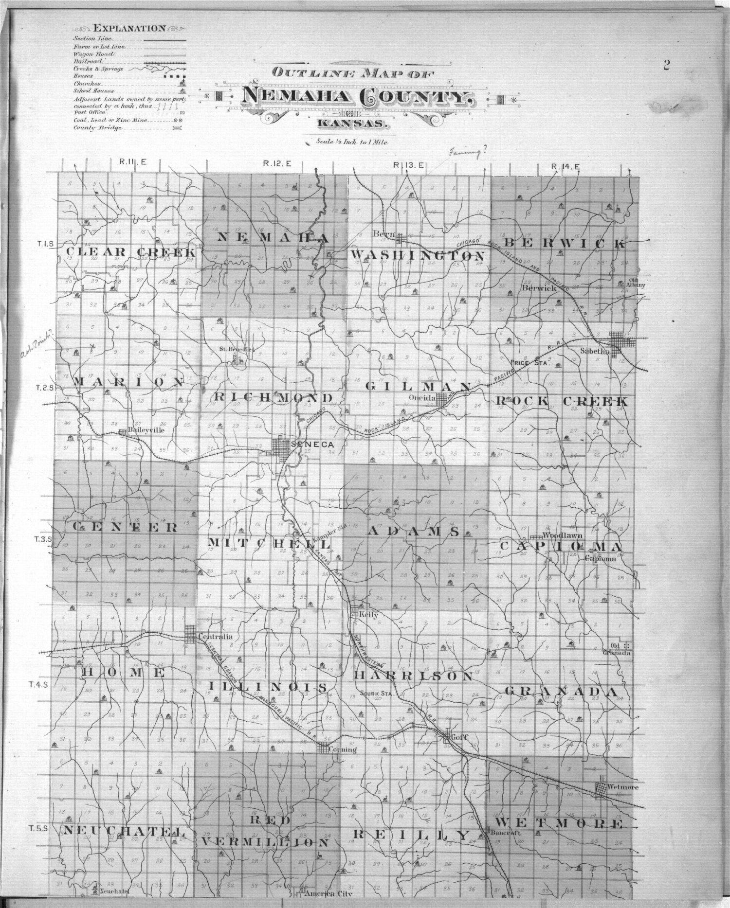 Plat book of Nemaha County, Kansas - 2