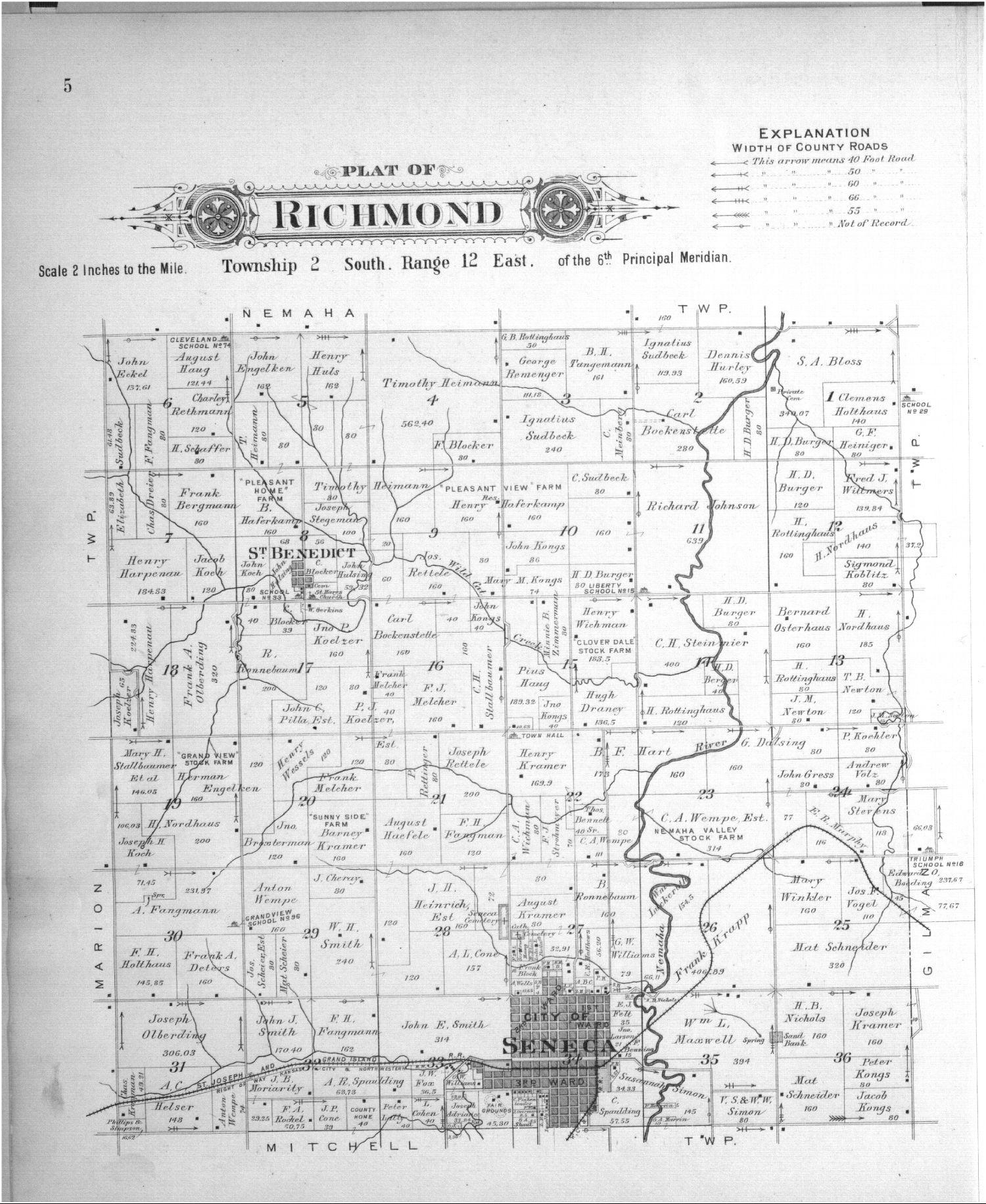 Plat book of Nemaha County, Kansas - 5