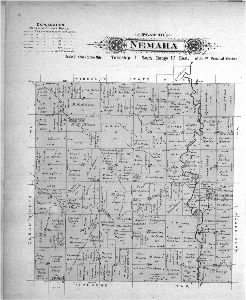 Plat book of Nemaha County, Kansas - 9