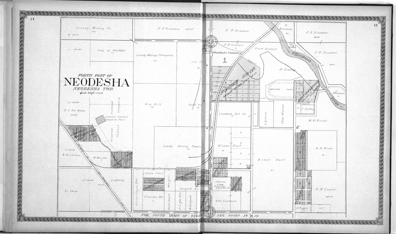 Standard atlas of Wilson County, Kansas - 14 & 15