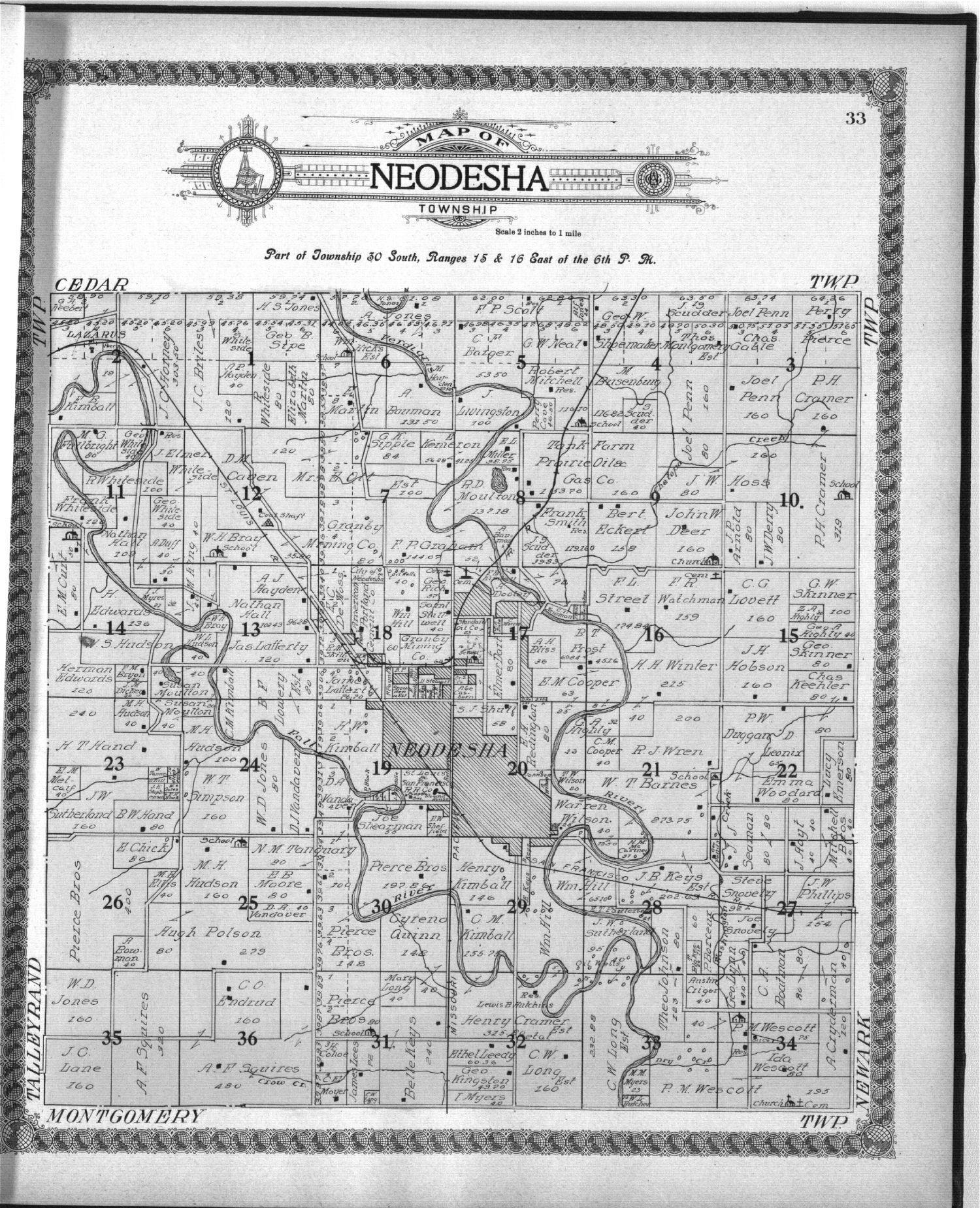 Standard atlas of Wilson County, Kansas - 33