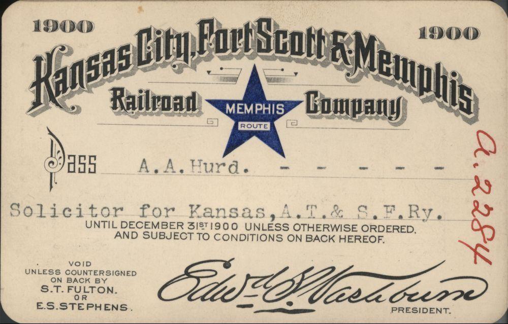 Railroad passes - 1