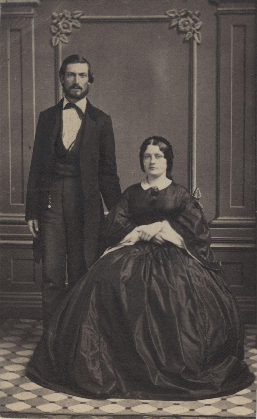 Albert Howell Horton & wife
