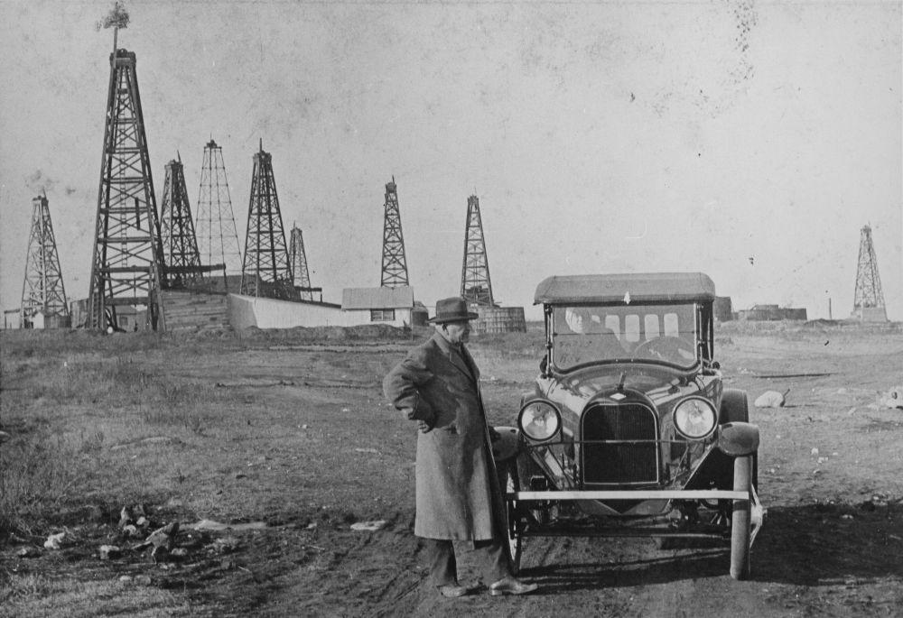 Gordon oil field, El Dorado, Kansas