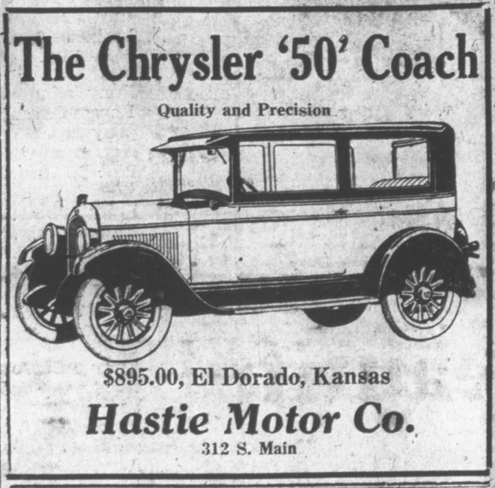 Chrysler '50' Sedan