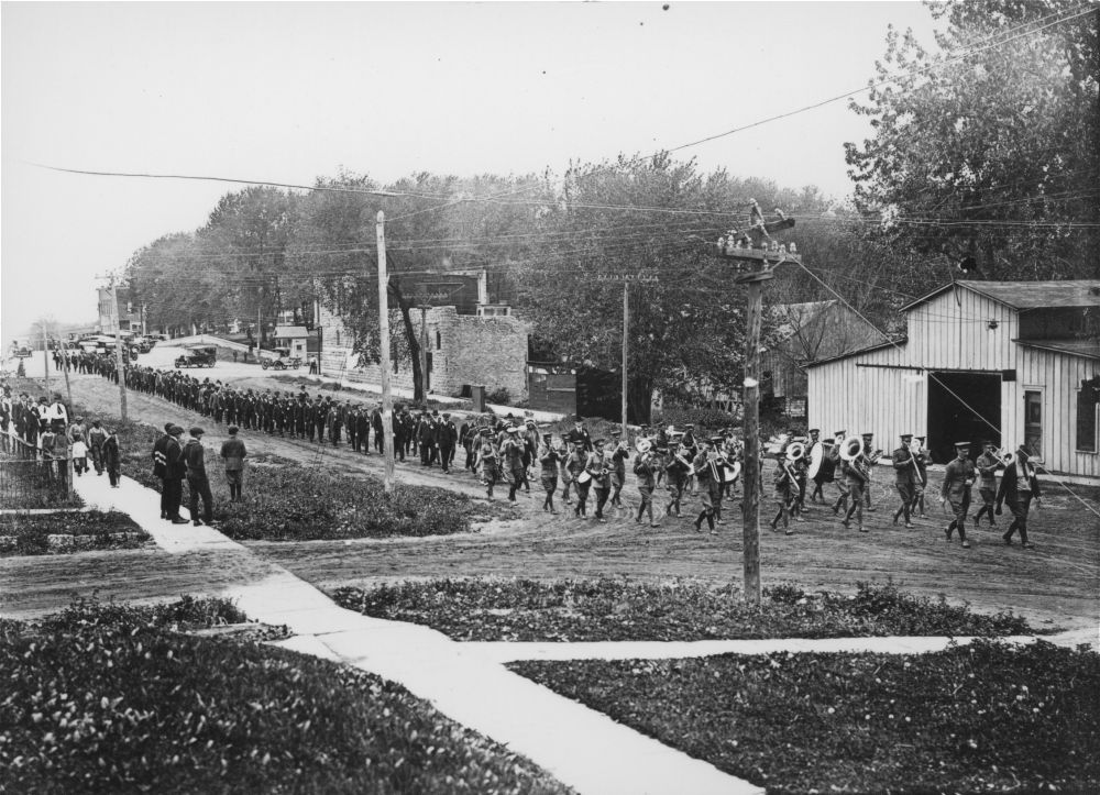 Oskaloosa parade, Oskaloosa, Kansas
