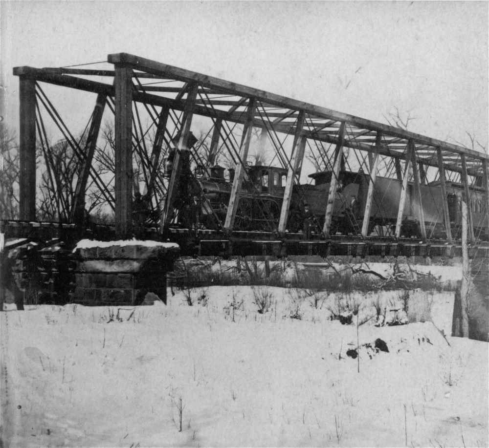 Missouri-Kansas-Texas Railroad bridge