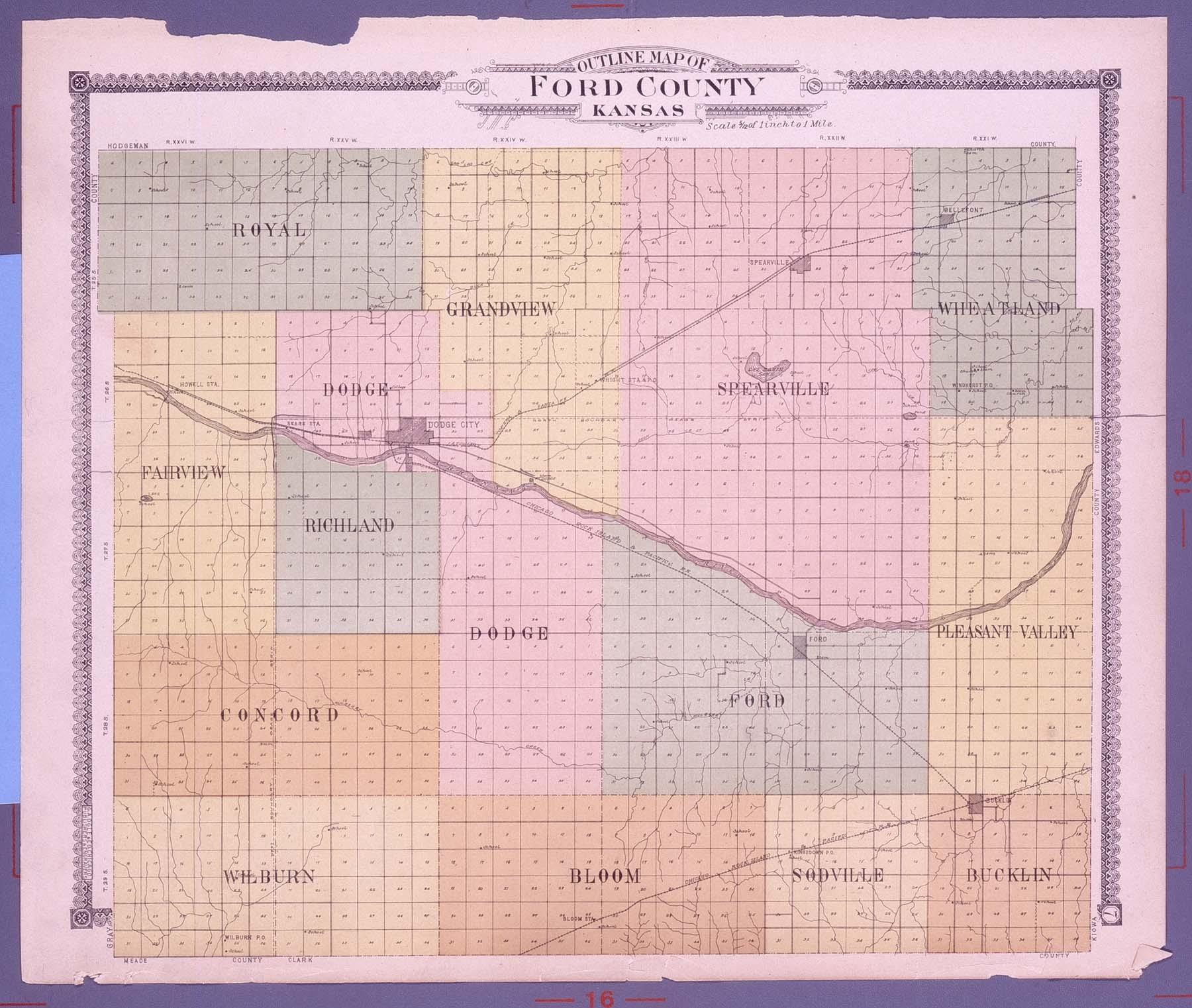 Standard atlas of Ford County, Kansas - 7