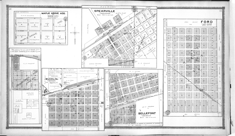 Standard atlas of Ford County, Kansas - 14 & 15