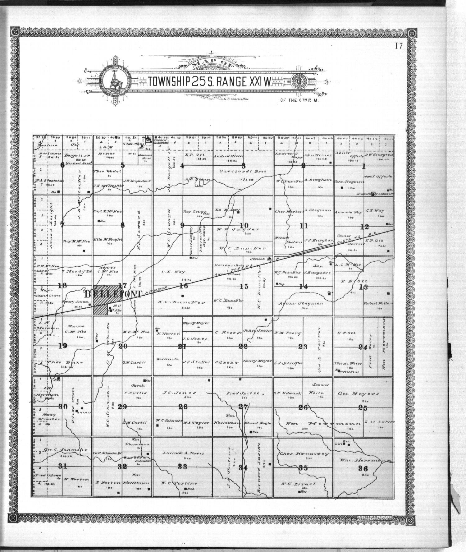 Standard atlas of Ford County, Kansas - 17