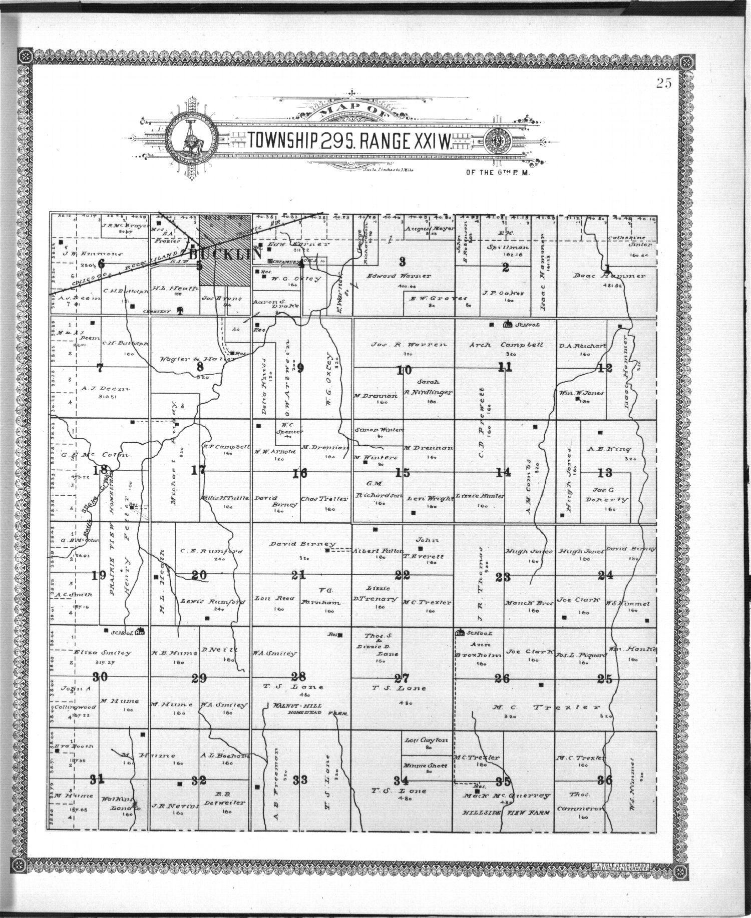 Standard atlas of Ford County, Kansas - 25