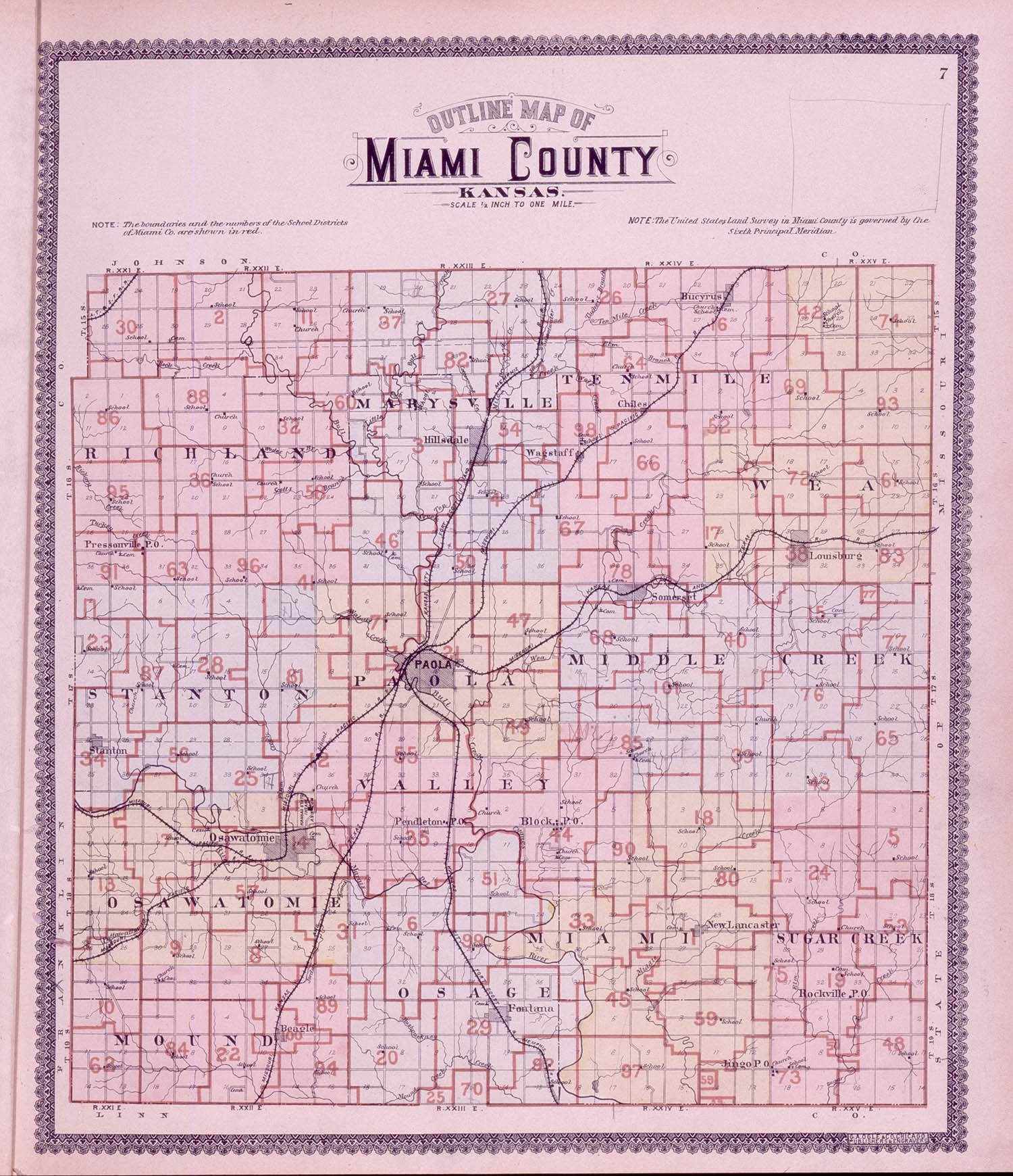 Standard atlas, Miami County, Kansas - 7