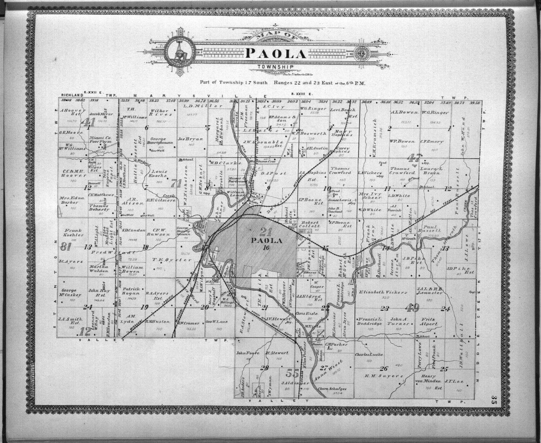 Standard atlas, Miami County, Kansas - 35