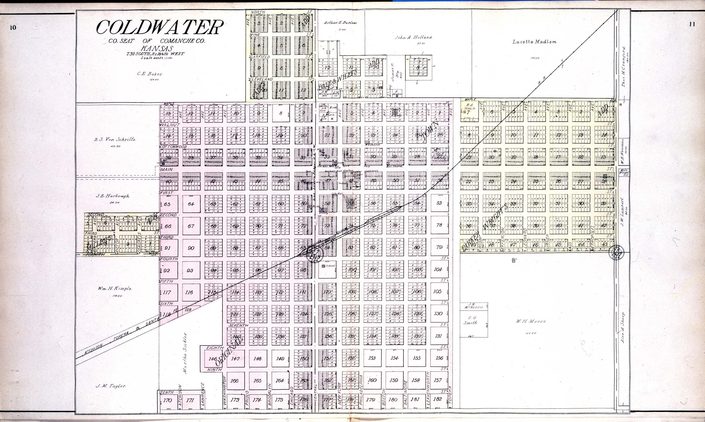 Standard atlas of Comanche County, Kansas - 10 & 11
