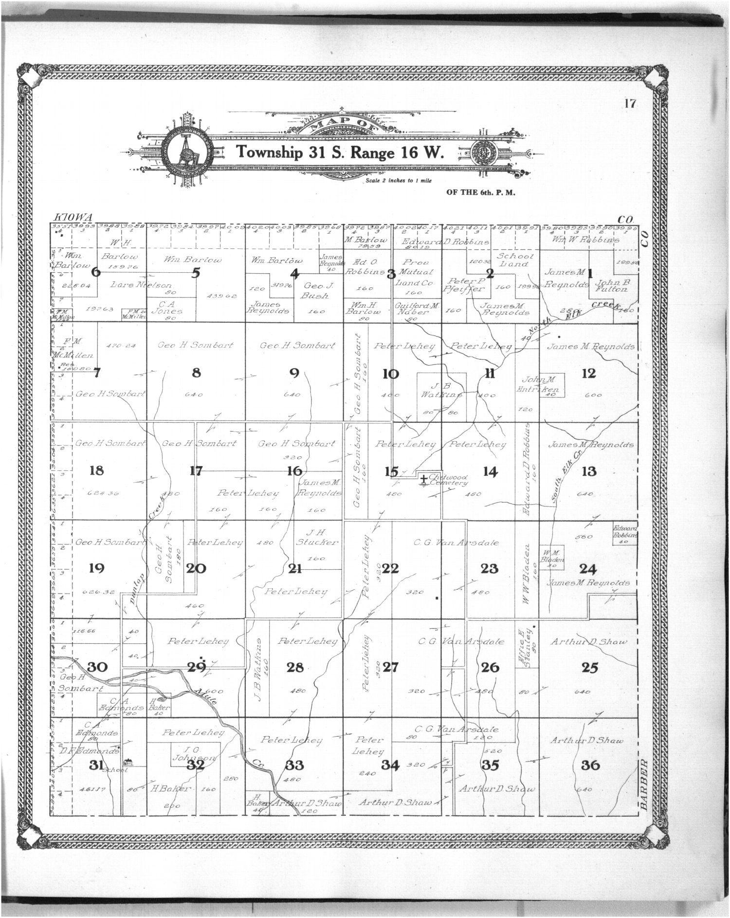 Standard atlas of Comanche County, Kansas - 17