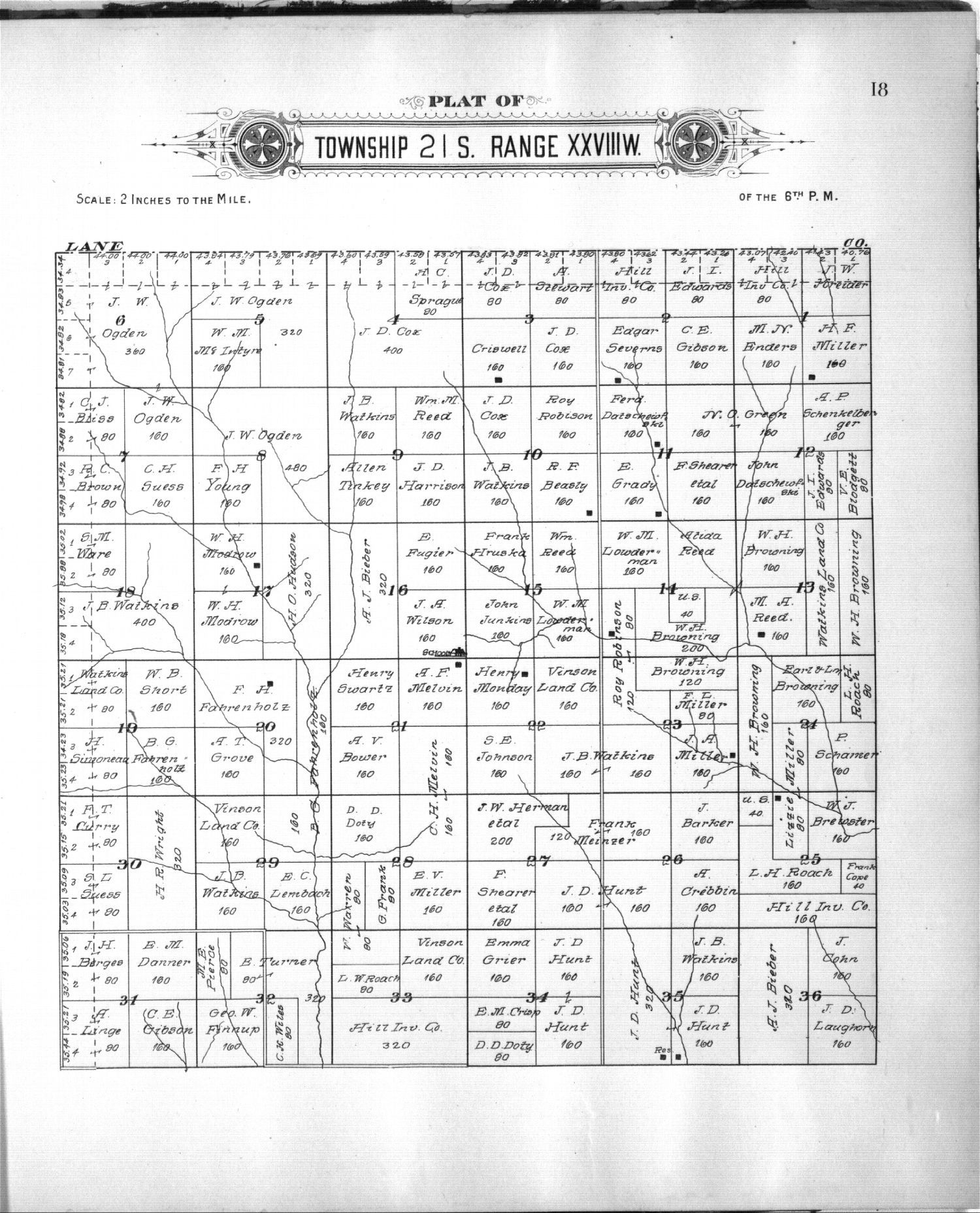 Plat book of Finney County, Kansas - 9