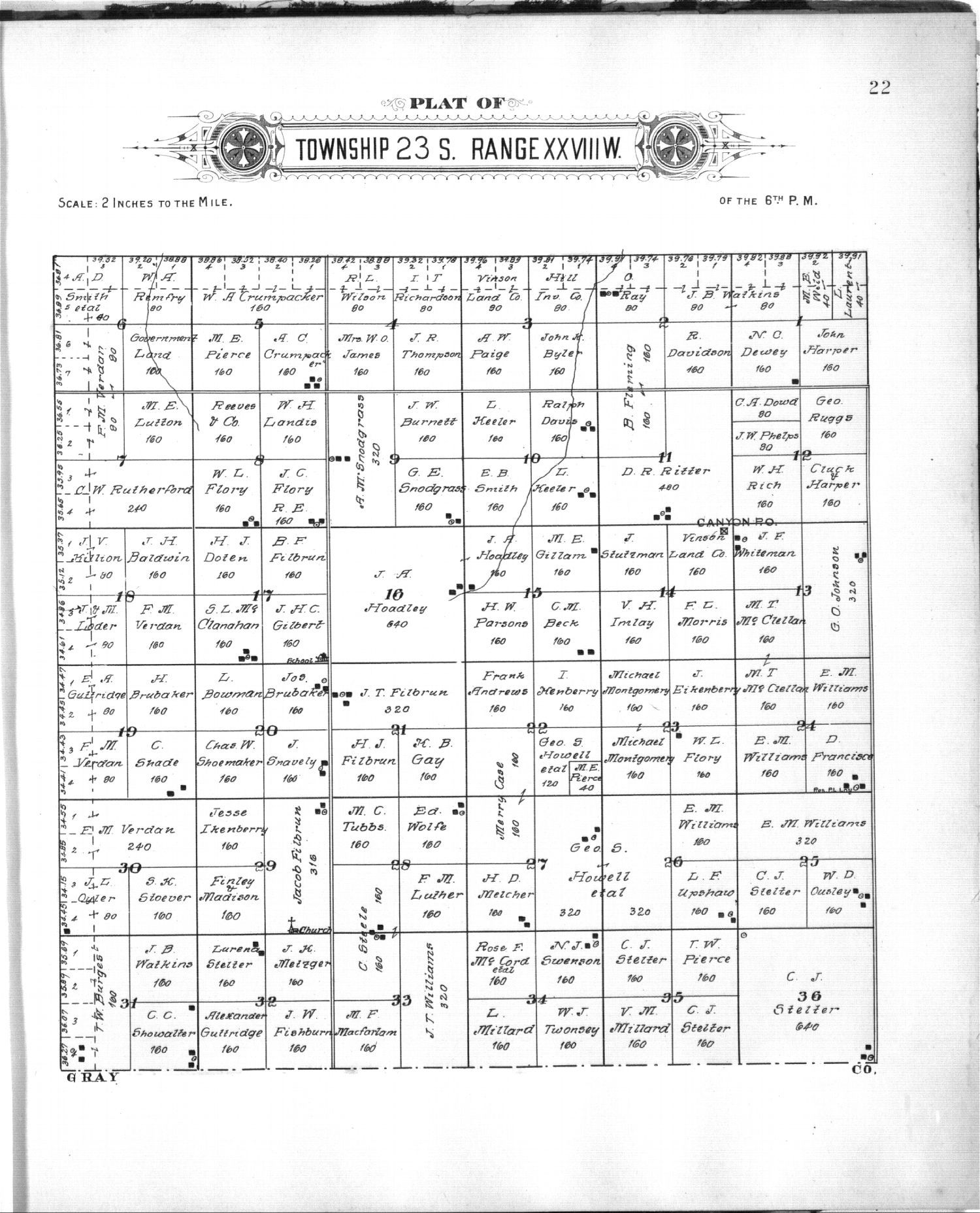 Plat book of Finney County, Kansas - 11