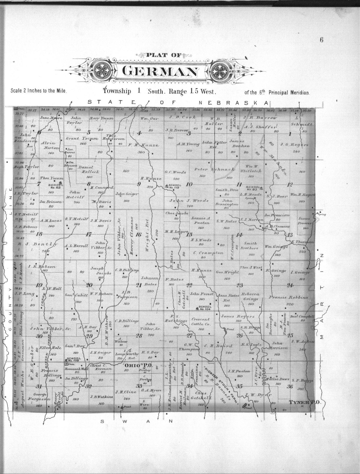 Plat book, Smith County, Kansas - 6
