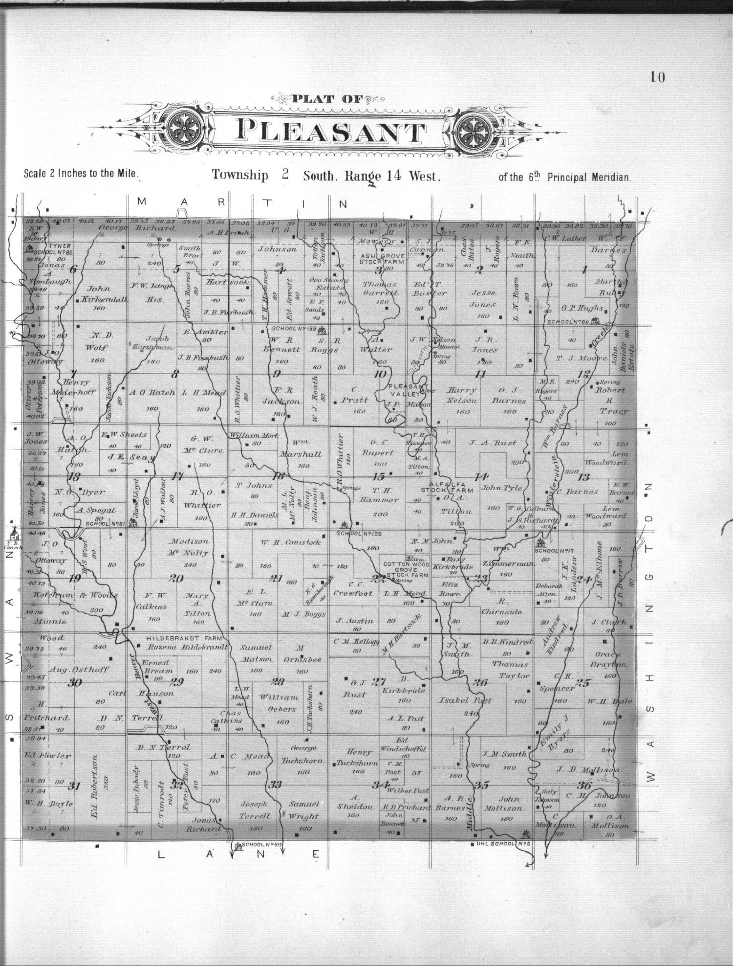 Plat book, Smith County, Kansas - 10