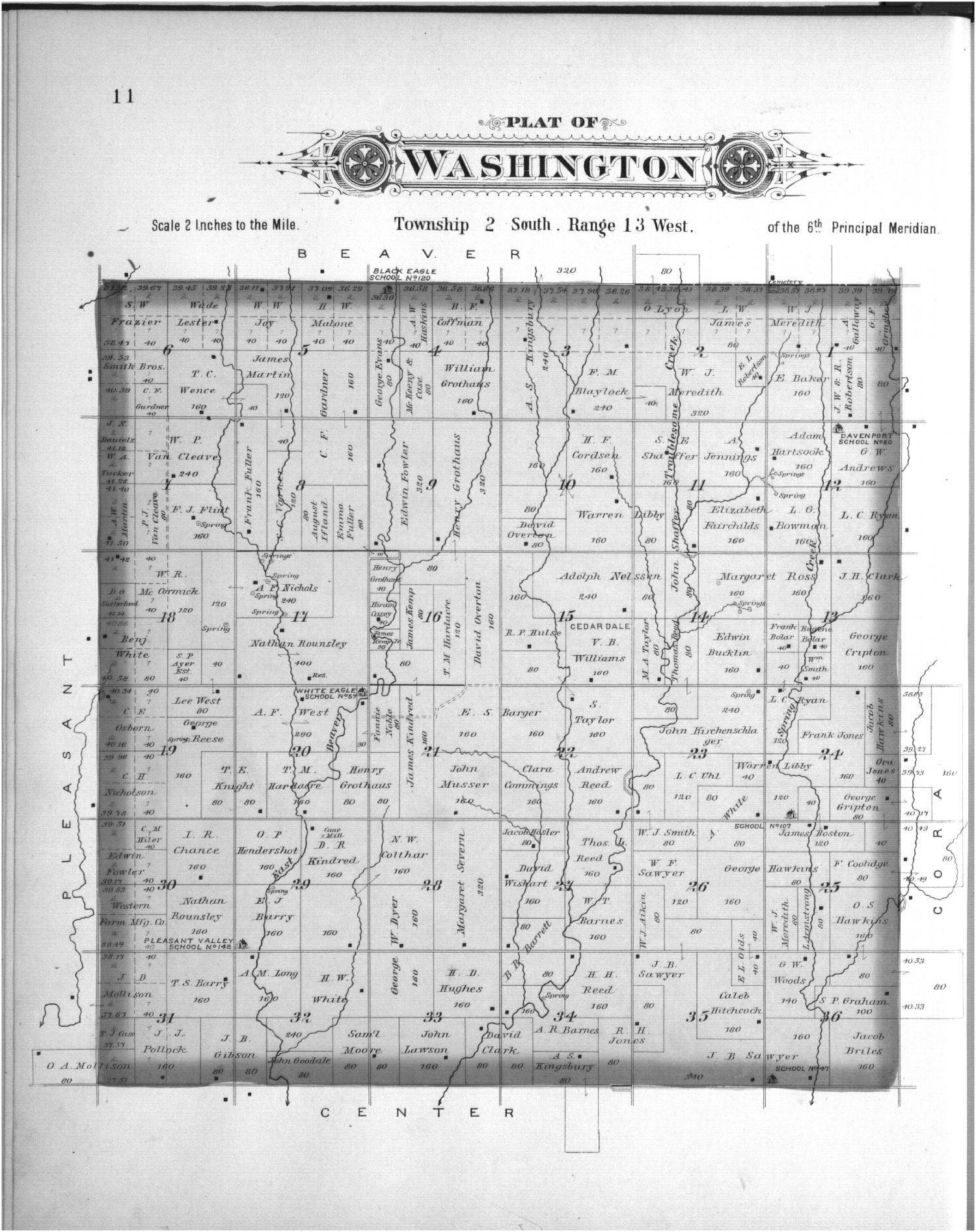 Plat book, Smith County, Kansas - 11
