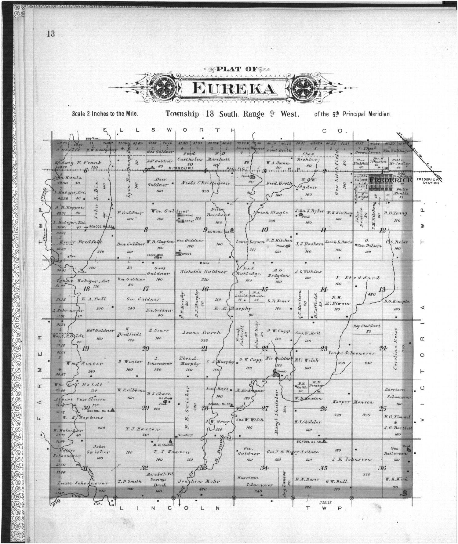Plat book of Rice County, Kansas - 13